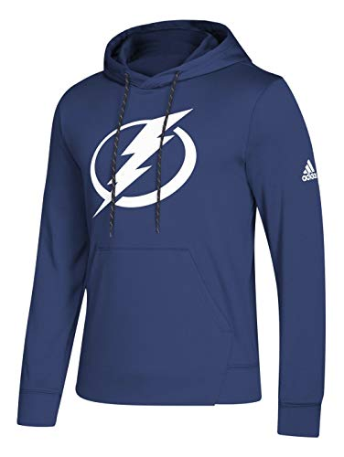 adidas Tampa Bay Lightning NHL Men's Goalie Pullover Hooded Sweatshirt