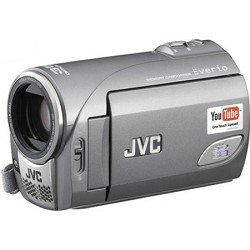 JVC Everio GZ-MS100U 35x Optical/800x Digital Zoom SDHC Camcorder w/2.7