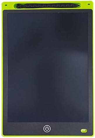 YKAIEET 10インチLCDタブレットグッドライティンググラフィティボードワードパッドおもちゃカラードローイングボードスマートドローイングボードライトトイドローイングタブレットデジタルボードで描画 (色 : Green)
