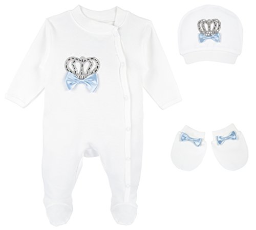 Lilax Baby Boy Crown Jewels Layette