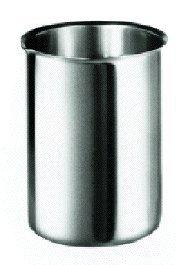600 mL Capacity Polar Ware 600B Stainless Steel Griffin Style Beaker 3-3//8 OD x 4-5//8 H