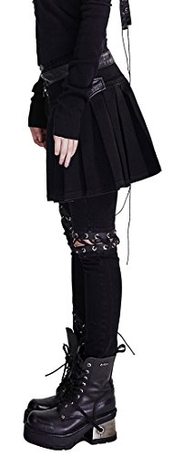 Punk Rave - Pantalón - para mujer negro