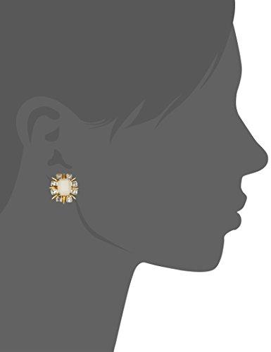 Lele Sadoughi Solstice sable laiton plaqué or-Boucles d'oreilles