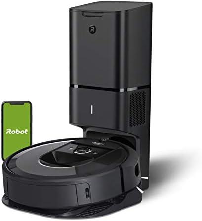 iRobot Roomba i7+ Robot Aspirador Roomba i7+ con con Estación de Limpieza Automática, Color, Pack of/Paquete de 1 3