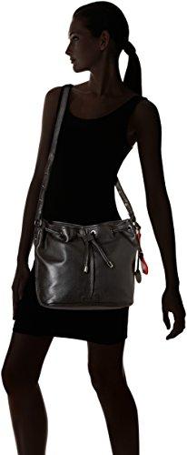 Sac épaule Valentine Noir Douglas Noir Mac Emira porté 0wFqtE0Xx
