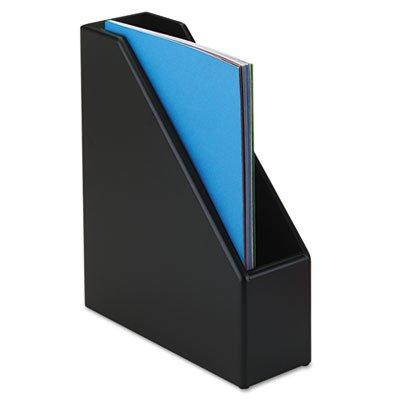 (ROL62536 - Rolodex Wood Tones Black Wood Magazine File)
