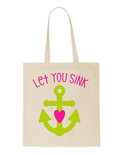 Tote I Bff Sink Statement Part Never Best Let Matching Bag Two You Friends Beige Shopper Will 7Ifnxqr807
