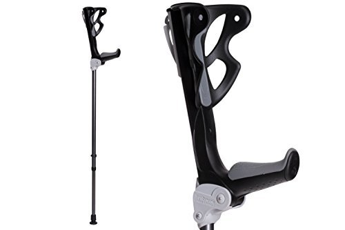 Ergodynamic Forearm Crutches by FDI (Size: 4