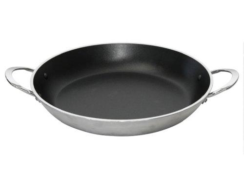 De Buyer CHOC Non-Stick Paella Pan, 36cm Diameter, 4.8cm Deep (Paella Aluminum Stick Non)