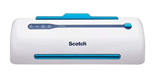 Scotch Brand PRO Thermal Laminator, Never Jam Technology Automatically Prevents Misfed Items, 2 Roller System, 9 inch…