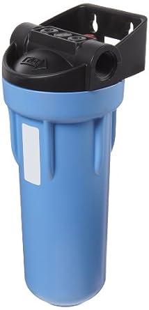 "Pentek 150574 3/4"" #10 3G Blue Filter Housing with Bracket and Meter Mount"