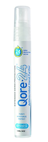 Qore 24 Non Toxic Hand Sanitizer Personal Paq Germ Protection