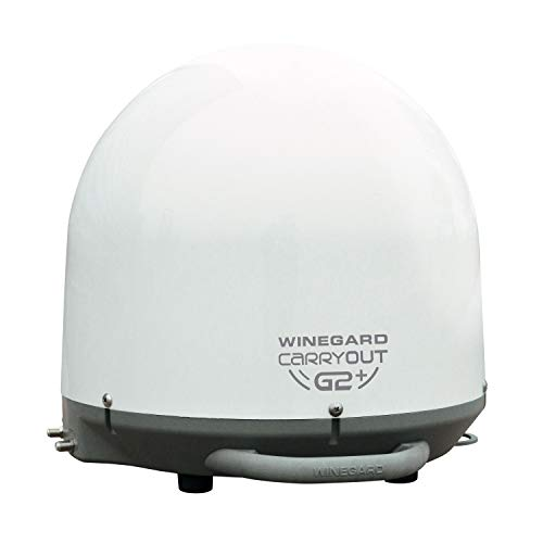 Winegard Company White GM-6000 Carryout G2+ Portable Antenna