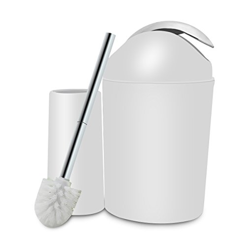 Review White Bathroom Accessories Set