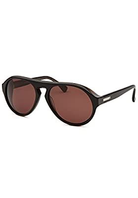 Calvin Klein Men's CK4249S Sunglasses, Black Marble