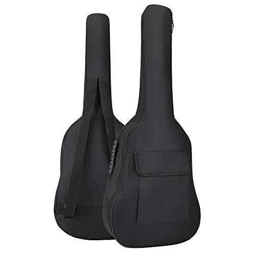 YiPaiSi 36 Inch Acoustic Guitar Gig Bag, Waterproof Guitar Case, Soft Guitar Backpack, Padded Dual Shoulder Strap, Soft Case Cover Adjustable Bag for Acoustic Classical Guitar (Guitar 35 Acoustic)