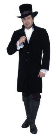[Men Medium (40-42) - Gentleman Jim Costume COAT Only] (1800s Dresses Costumes)
