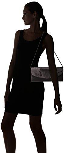 Shoulder Tuxedo Included Flap Clutch Bag McClintock Satin Jessica Evening Womens With Chain Angel Black qwnxv7WIRZ