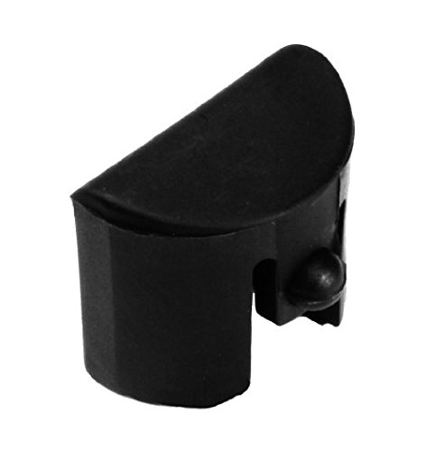 (Fixxxer Gen 1-3 Grip Plug fits Medium & Large Frame fits Glock 17 19 20 21 22 23 24 25 31 32 34 35 (Plain Black))