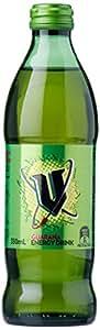 V Energy Green Guarana Energy Drink Bottle, 24 x 350 Milliliters