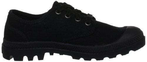 Palladium PAMPA OXFORD~BLACK/BLACK~M 92351-060-M - Zapatos para mujer, color marrón, talla 39,5 Negro