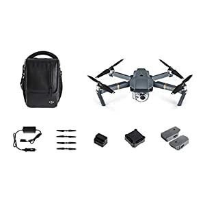 DJI Mavic Pro Fly More Combo | 3 Axis Gimbal 4K Camera Drone with Accessories 31AJCw7nEsL