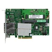 Dell PERC H800 RAID Controller Card for PowerEdge and PowerVault. Adapter with 2 External ports supports SAS 2.0 6Gb/s and x8 PCIe 2.0 slot 7M0DF