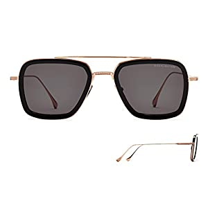 Sunglasses Dita FLIGHT. 006 7806 E-BLK-RGD BlackRose Gold w/ Dark Grey-AR