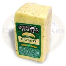 Denmarks Finest Danish Havarti Dill Cheese Loaf, 9 Pound - 1 each.