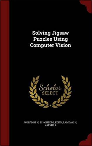 Book Solving Jigsaw Puzzles Using Computer Vision