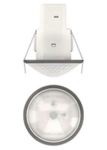 Theben Mova S360-101 DE GR Sensor DE Movimiento para Techo, Control, iluminación