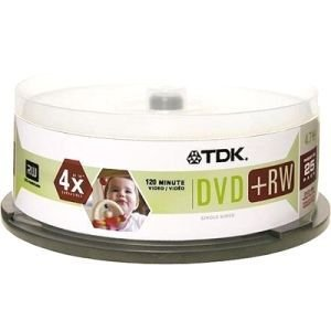 TDK 4x DVD-RW Media (48332) - by Imation