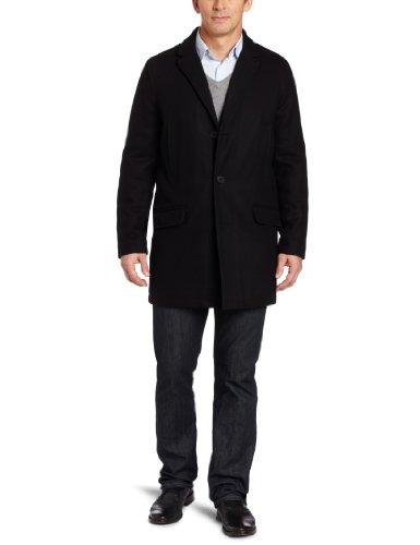 Tommy Hilfiger Men's Melton Top Coat