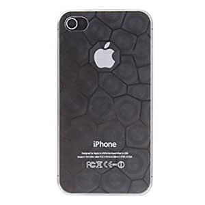 TOPMM ships in 48 hours Ultrathin Water Cube Transparent PC Hard Case for iPhone 4/4S