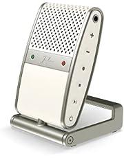 Tula Mic - Mobiele microfoon & recorder met USB C aansluiting - studio kwaliteit - voor content creators - PC microfoon voor conference calls - Uni en Omni directional polar pattern - hoge kwaliteit noice cancelling - 8gb intern geheugen (Cream)