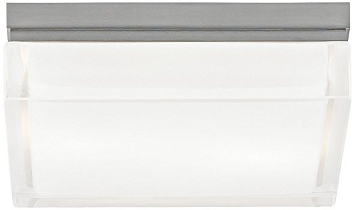 Price comparison product image Tech Lighting 700BXLS,  Boxie Ceiling,  Large Flush Mount,  Satin Nickel