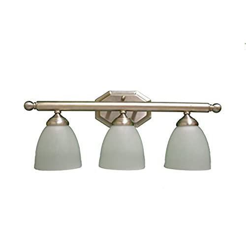 Discount Bathroom Lights: Cheap 3-Light Bathroom Vanity (GU24 SOCKET) By