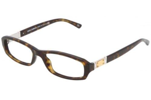 Dolce Gabbana DG 3093 502 Rectangle Eyeglasses Havana/Demo - Prescription Glasses Dg