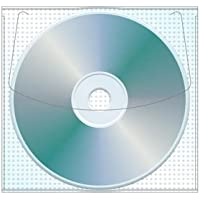 Adhesive Cd | DVD Safety-sleeve®, 5.25 x 5, No Holes - Box of 1000