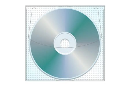 Adhesive Cd | DVD Safety-sleeve®, 5.25