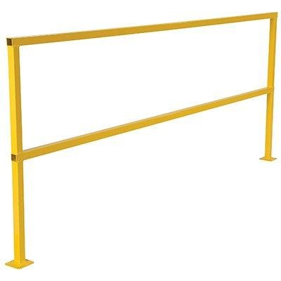 Steel Square Safety Handrails (IHS SQ-60 Steel Square Safety Rigid Handrail without Toeboard, 60