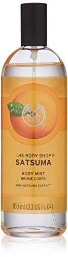 - The Body Shop Satsuma Body Mist, Paraben-Free Body Spray, 3.3 Fl. Oz.