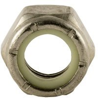 Stainless Steel Nylon Insert Lock Hex Nut UNF 3//8-24 Qty 100