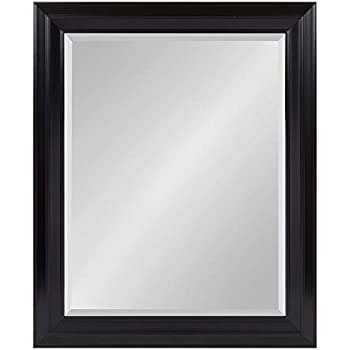 Kate and Laurel Whitley Framed Wall Mirror, 27.5x33.5, Black