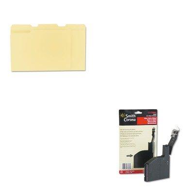 - KITSMC17657UNV12113 - Value Kit - Smith Corona 17657 Ribbon (SMC17657) and Universal File Folders (UNV12113)