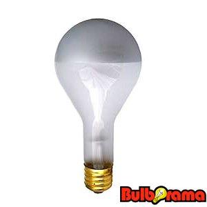 Silver Bowl Light Bulb: 300 WATT PS35 MOGUL BASE SILVER BOWL SUPRA LIFE LIGHT BULB,Lighting