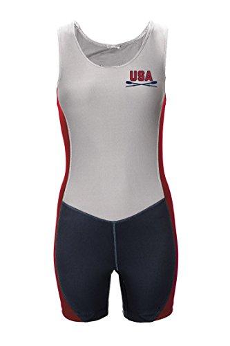 Boathouse Sports USA Oars Pinnacle II Rowing Unisuit, Women's