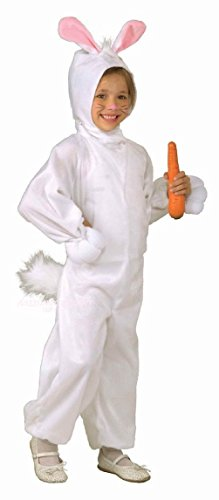 Easter Rabbit Costume Child Animal Bunny Tails Hood Girl's Boys Kids Medium 8-10 - Peter Rabbit Costumes To