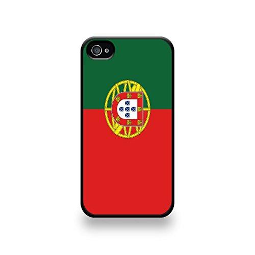 LD coqip4_146 Case Schutzhülle für iPhone 4/4S, Motiv Flagge von Portugal