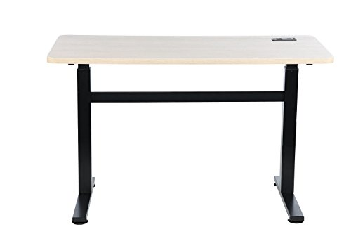 Z-Line Designs Writing Desk, Crank & White Wash